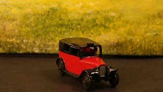 Dinky Toy Restoration: Improved method.