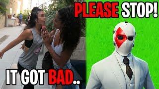 My Ex Girlfriend Tried Fighting My Girlfriend... (Fortnite)