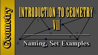 Geometry: Introduction to Geometry (Level 7 of 7)   Naming, Set Examples