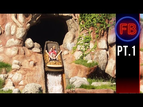 Rope Drop and our first ride back on Splash Mountain   042118 pt 1 4K