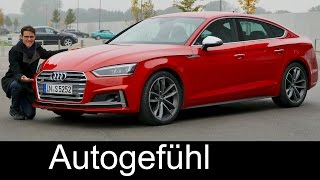Audi A5 Sportback S-line vs S5 Sportback V6 FULL REVIEW test driven new neu 2017