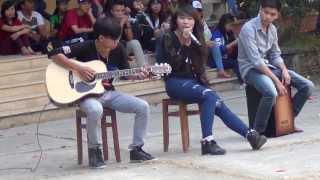 Lắng nghe mùa xuân về (acoustic cover) - Mj Chaj