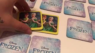 Frozen hafıza oyunu oynadık, eğlenceli kart eşleştirme oyunu