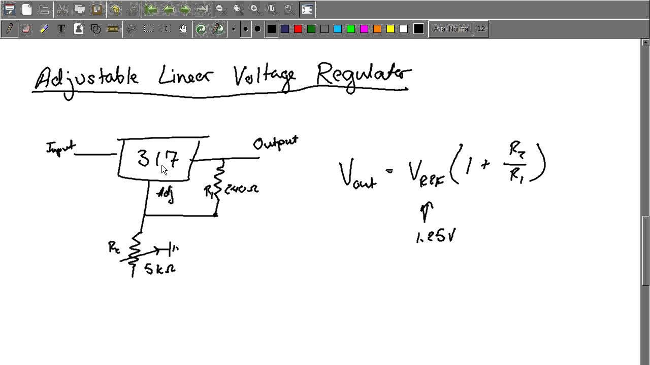 Electronics 101 Voltage Regulators Youtube Adjustable Source Regulator Integrated Circuit 7805 Positive Operational Amplifier 4558