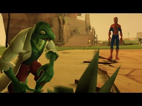 Spider-Man: Friend or Foe - Walkthrough Part 10 - Cairo, Egypt: The Oasis