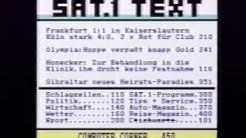 Sat1 23.02.1992 Videotext