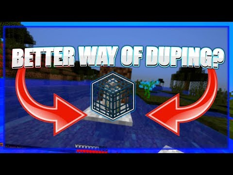 BETTER WAY TO DUPE GLITCH? Minecraft multiplayer duplication glitch working 1.8/1.9/1.0/1.11/1.12
