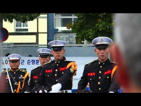 La Corée du Sud a l honneur a  Cherbourg octeville