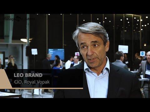 Leo Brand, CIO, Royal Vopak at 600Minutes Executive IT, The Netherlands  Part2
