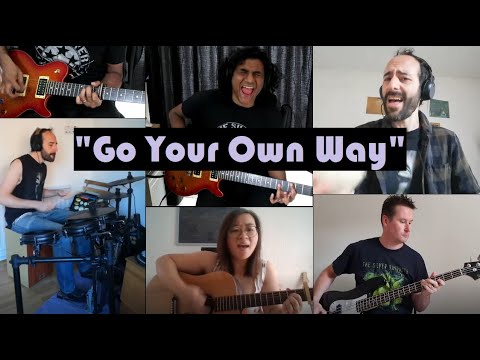 "Fleetwood Mac - ""Go Your Own Way"". Cover by The Silver Bayonets. (Guitar, bass, drums - full band)"