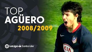 TOP Goles Sergio Agüero LaLiga Santander 2008/2009