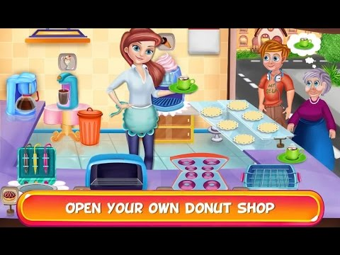 My Sweet Donut Cafe - Videos games for Kids - Girls - Baby Android
