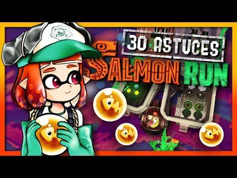 30 ASTUCES DE PRODIGE EN SALMON RUN - Guide Splatoon 2