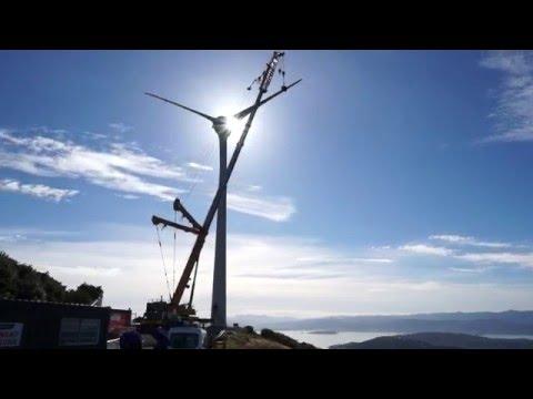 Timelapse: watch the New Brooklyn Turbine go up