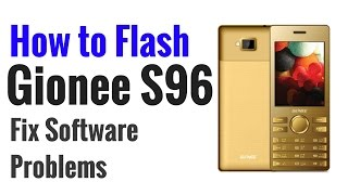 Gionee S96 Flash done with Flash tool by GsmHelpFul