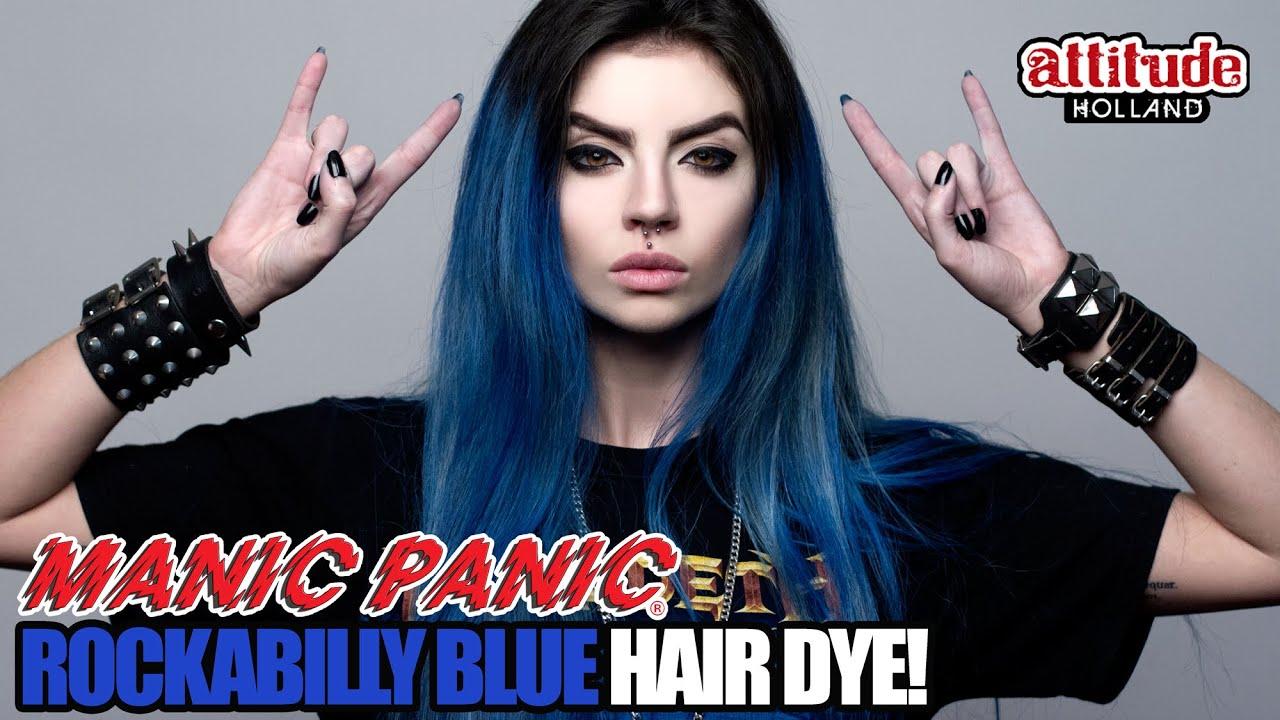 Ben noto MANIC PANIC ROCKABILLY BLUE | Beatriz Mariano - YouTube TI97