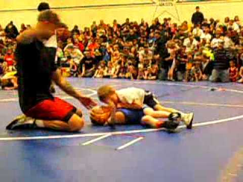 Kevin Retzlaff-4 year old Wrestler-Cameron Tournament