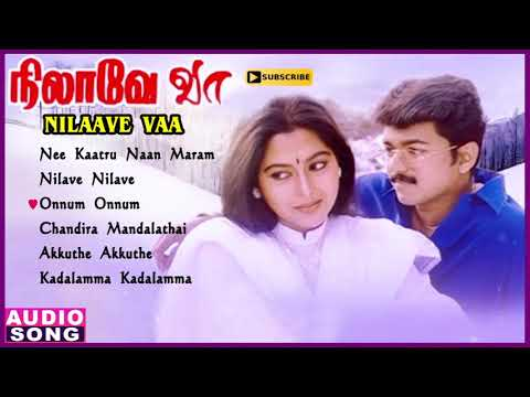 Nilaave Vaa Vijay Movie Songs | Audio Jukebox | Vijay Hits | Suvalakshmi | Sanghavi | Vidyasagar
