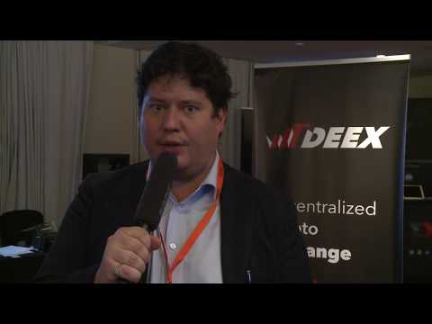 DEEX CEO' interview from the heart of traditional banking, Geneve