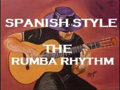 How to play flamenco style -The RUMBA RHYTHM (spanish style)