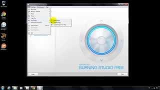 โปรแกรม Ashampoo Burning Studio Free สำหรับเขียนแผ่น
