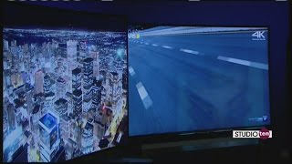 Studio 10: Ultra high definition tv