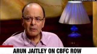 Arun Jaitley on Pahlaj Nihalani & CBFC Row | Fr...