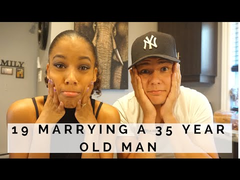 19 AND MARRYING A 35 YEAR OLD !! | WHAT'S THE QUESTION