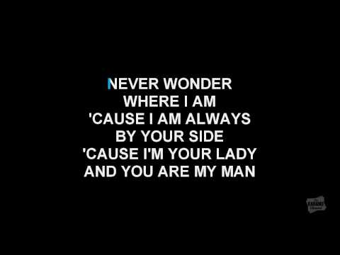 The Power Of Love in the style of Celine Dion karaoke video with lyrics (no lead vocal)