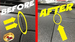 How To Repair a CRACKED DASH or Cover IT UP!