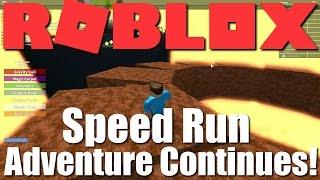 Plus de vitesse en cours d'exécution Goodness! Roblox - Speed Run : L'aventure continue!