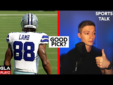 ceedee-lamb-dallas-cowboys-1st-round-pick-2020-nfl-draft-opinion-/-thoughts-sports-talk-podcast