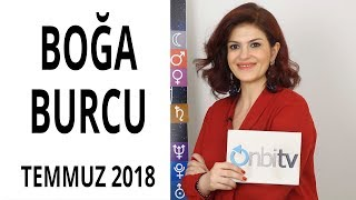 Boğa Burcu - Temmuz 2018 - Astroloji
