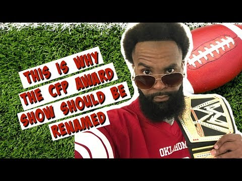This Is Why The College Football Awards Show Needs To Change | Football Oklahoma Sooners