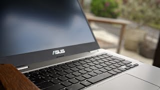 ASUS Chromebook C423NA Review & CyberLink Power Director (Android)