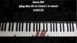 "Bone Thugs N Harmony - ""Mind Of A Souljah"" Piano Tutorial in A minor"