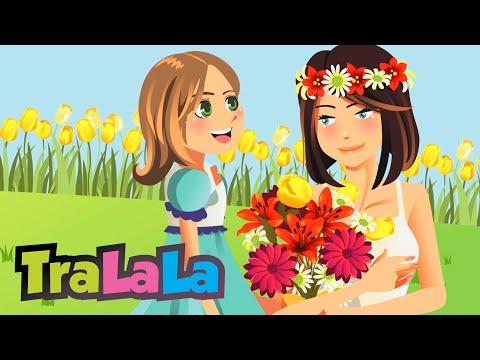 8 Martie - Cântece de primăvară pentru copii | TraLaLa