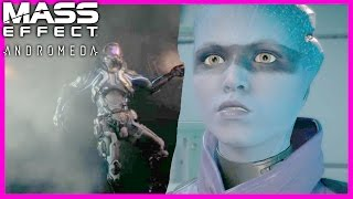 Mass Effect Andromeda Peebee About Scott Ryder Dying (Male Ryder Romance)