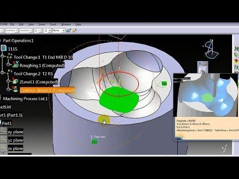 Advanced programming tutorial   Catia surface machining #2 thumbnail