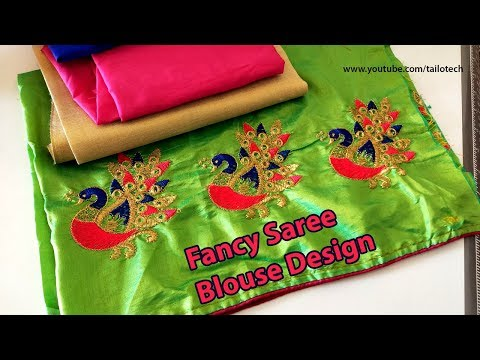 Beautiful Fancy Saree Blouse Designs And New Fashion Blouse Youtube