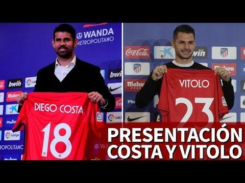 Presentación Diego Costa y Vitolo en la Wanda Metropolitano | Diario AS
