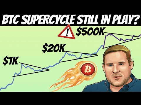 Dan Held - Bitcoin Still May Reach $500k in The SuperCycle | Long Term Holders are Buying!!