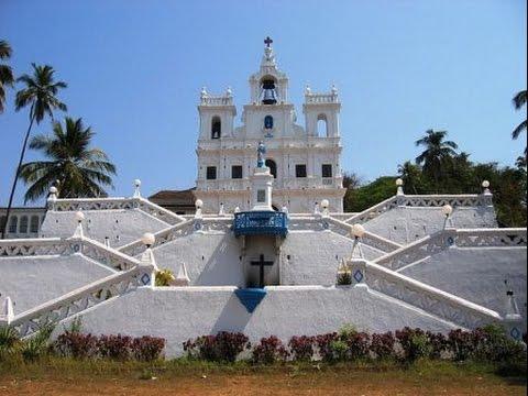 Панаджи, столица Гоа, Индия | Panjim, capital of Goa, India