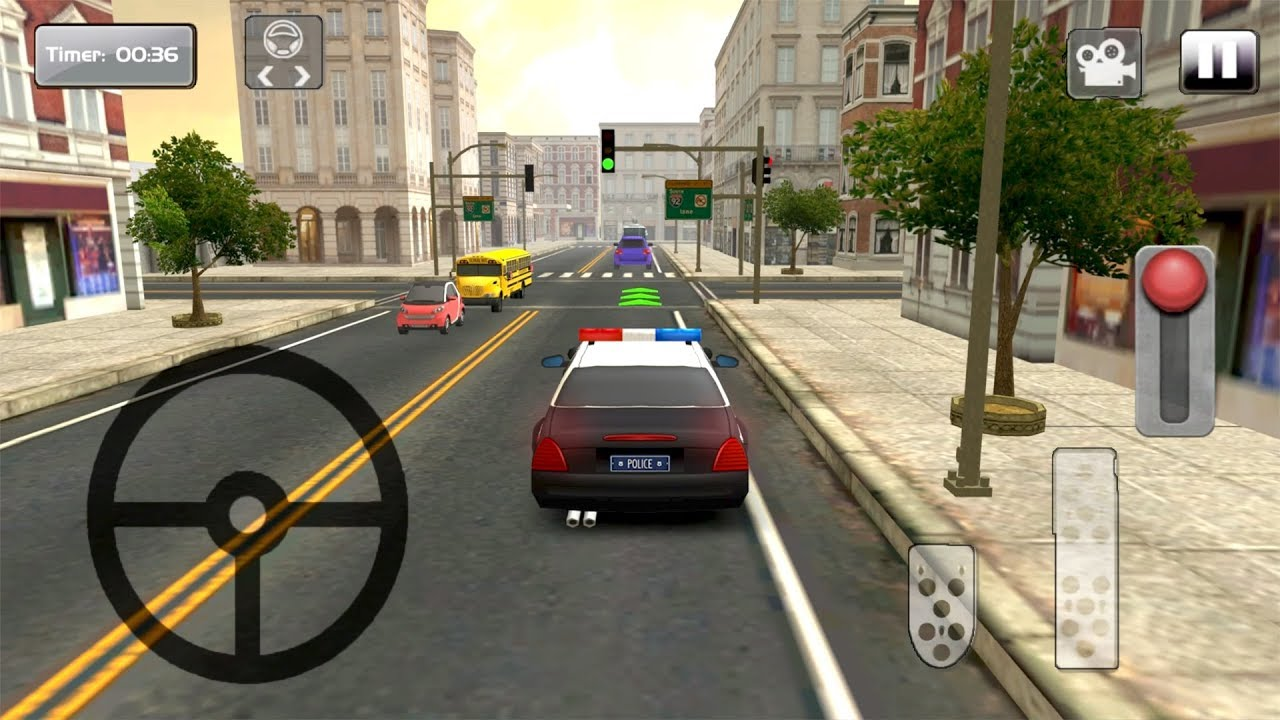 Furious Police Car Driving Simulator By 2017 Free Games