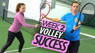 Transform your Tennis Game in 30 Days - Week 2: Volley Success