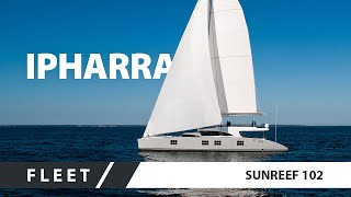 Mega catamaran for charter Sunreef 102 IPHARRA