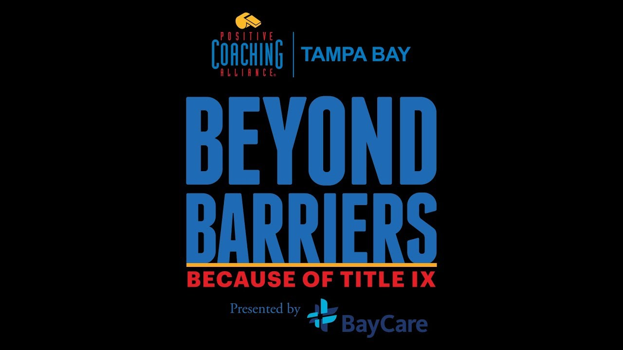 Inaugural Beyond Barriers Because Of Title Ix Youtube