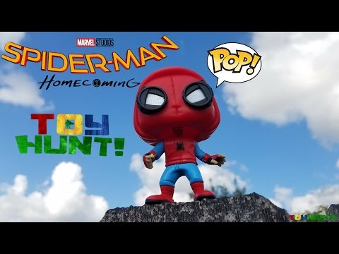 Toy Hunting for Funko Pops & Spider-Man Homecoming Marvel Legends!
