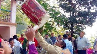 Pahari Dhol Nagade Shehnai Mandyali Dance ||(Hesi Re Putra)|| Himachali Culture || H.P. Mandi