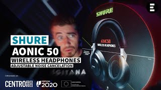 Shure AONIC 50 - Wireless Headphones com ANC | EGITANA.pt